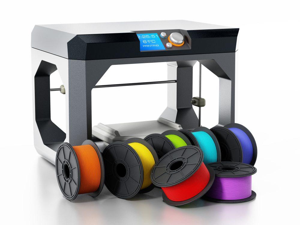 3Dプリンターの基本的な素材